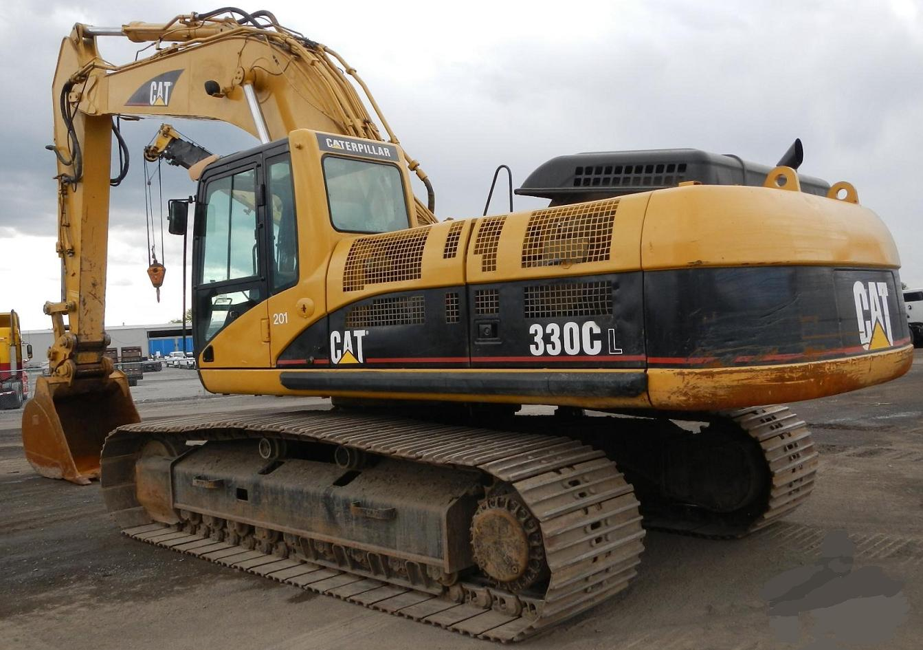 Excavator Westmetros Equipment Sales Ltd Construction Volvo Wiring Diagrams 2002 Cat 330cl Rb